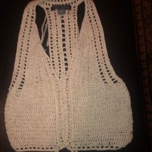 Knit crop top size xs
